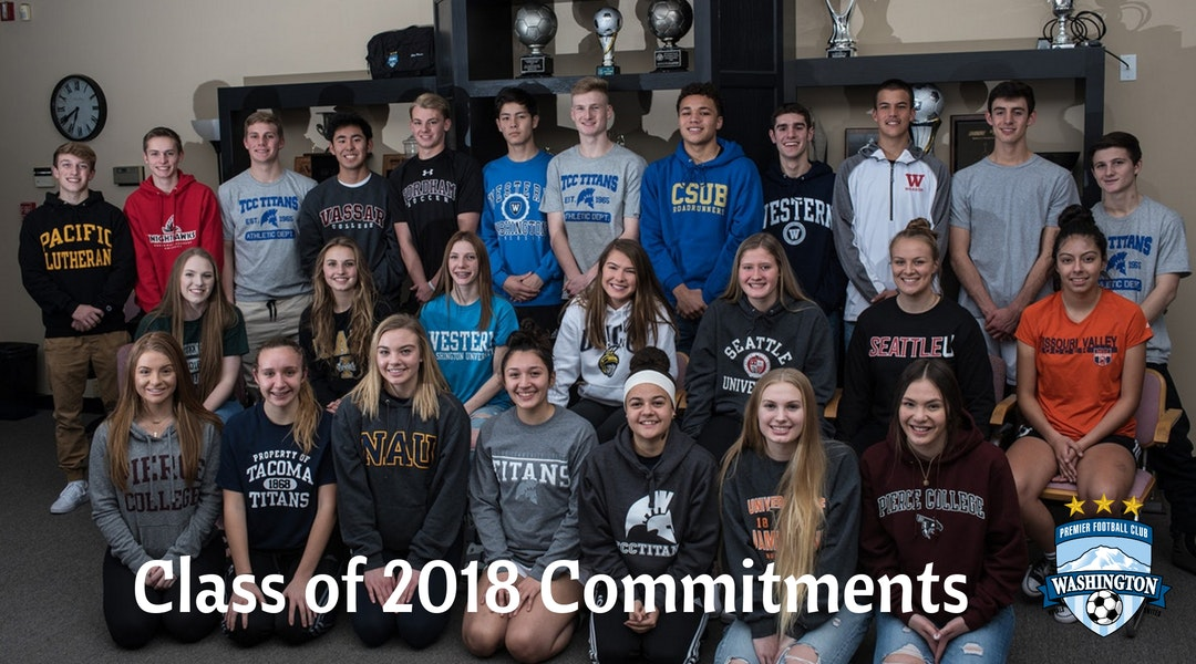 WPFC Class of 2018 – Signing Day