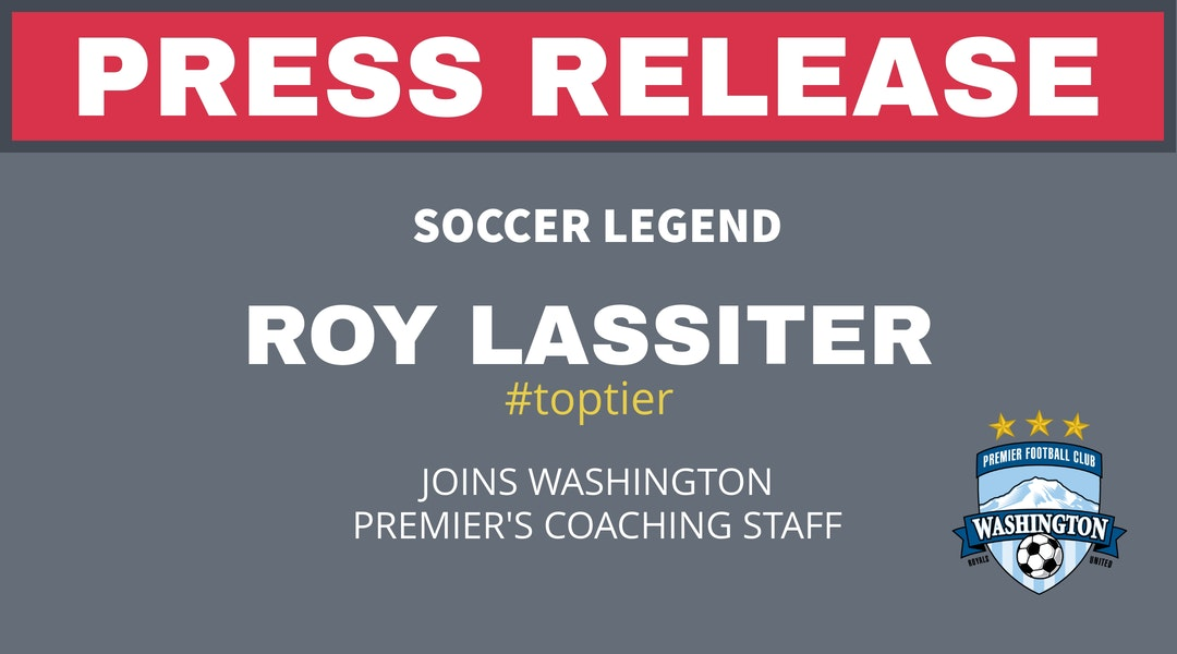 Press Release – Roy Lassiter Joins WPFC Staff